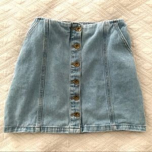 Jean Skirt with *Pockets*